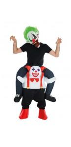 Déguisement Clown malveillant Halloween taille unique