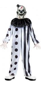 Déguisement Clown tueur enfant Halloween taille L-164 cm