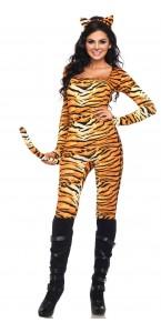 Déguisement Combinaison sexy Tigresse femme