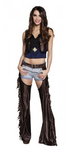 Déguisement Cowgirl Brandy Taille M