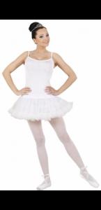 Déguisement de danseuse blanc