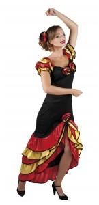 Déguisement de danseuse flamenco Rumba taille 36/38