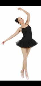 Déguisement de danseuse noir