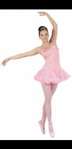 Déguisement de danseuse rose