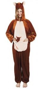 Déguisement de kangourou peluche taille M/L