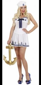 Déguisement de marin femme