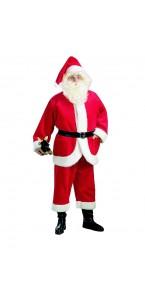 Déguisement de Père Noël luxe