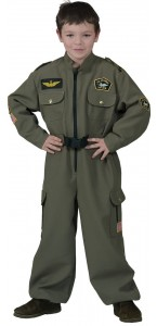 Déguisement de pilote Top Gun garçon
