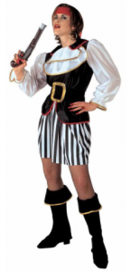 Déguisement de pirate femme taille XL