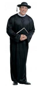 Déguisement de prêtre adulte XL