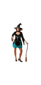 Déguisement de sorcière magique luxe Halloween