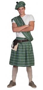 Déguisement d'écossais Higlander vert