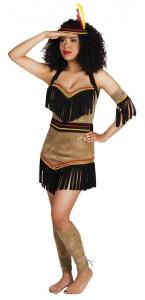 Déguisement d'Indienne Squaw Eagle femme