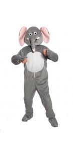 Déguisement éléphant gris 180 cm