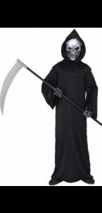 Déguisement faucheur sinistre Hallowen enfant 8/10 ans