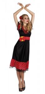 Déguisement Flamenco femme rouge