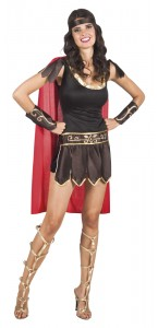 Déguisement gladiatrice romaine femme