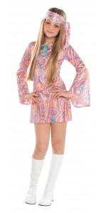 Déguisement hippie Diva fille