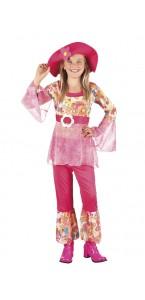Déguisement hippie Happy Diva fille 7/9ans