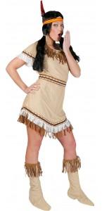Déguisement Indienne Sioux femme