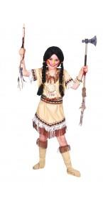 Déguisement Indienne Sioux fille