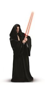 Déguisement Jedi noir luxe taille standard