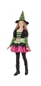 Déguisement Lollipop Halloween vert/ noir