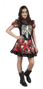 Déguisement Nina Catrina Halloween 14/16 ans