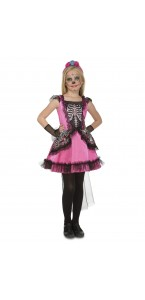 Déguisement Pequena Catrina Halloween fille