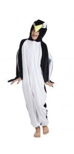 Déguisement Pingouin peluche enfant max 1,40 m