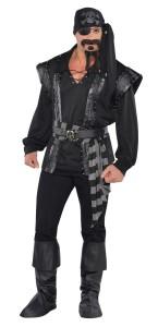 Déguisement Pirate homme noir