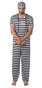 Déguisement Prisonnier taille M/L