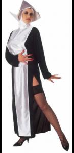 Déguisement religieuse sexy adulte noir