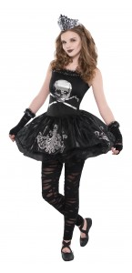 Déguisement robe tête de mort Halloween