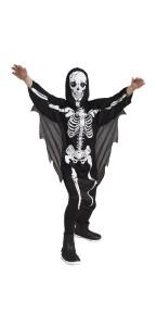 Déguisement Scary squelette garçon Halloween