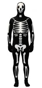 Déguisement seconde peau frott'man squeletor Halloween L