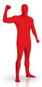Déguisement seconde peau rouge