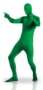 Déguisement seconde peau vert