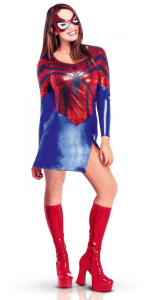 Déguisement Spidergirl adulte