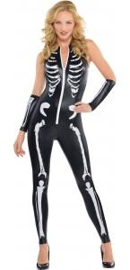 Déguisement Squelette seconde peau Halloween