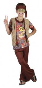 Déguisement sunstar hippie garçon 7/9 ans