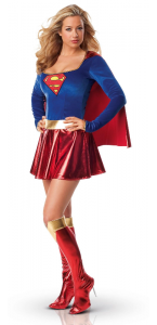 Déguisement Supergirl sexy adulte