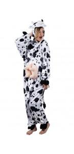 Déguisement Vache mascotte peluche adulte