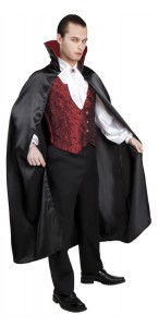 Déguisement vampire gothique halloween pour homme taille M/L