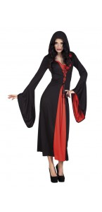 Déguisement vampire lady Halloween taille M