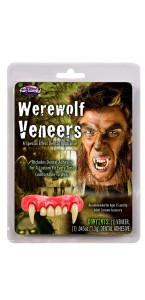 Dentier loup-garou Halloween