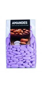 Dragées Amande Longuette Lilas  450 gr