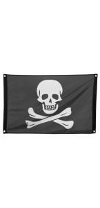 Drapeau de pirate 50 cm par 90 cm