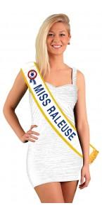 Echarpe Miss raleuse bleu