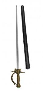 Epée de Mousquetaire avec fourreau 65 cm